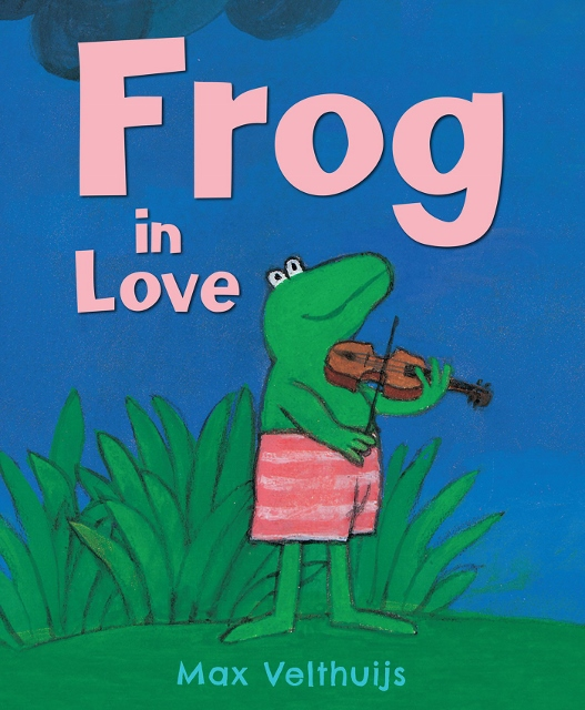 Frog in Love (527x640)
