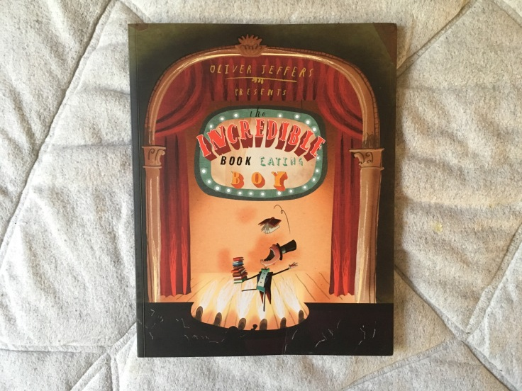 the incredible book eating boy by oliver jeffers 699 paperback harpercollins childrens