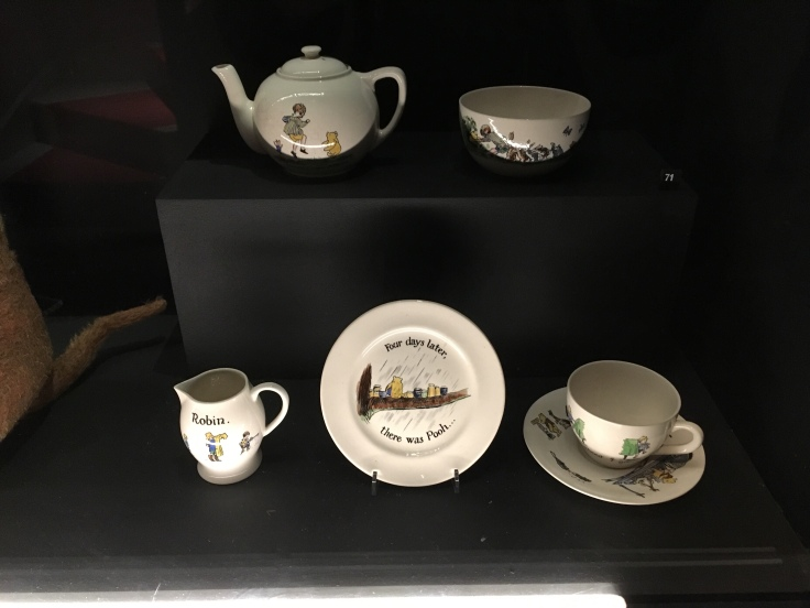 Christopher Robin nursery tea set belonging to the Queen