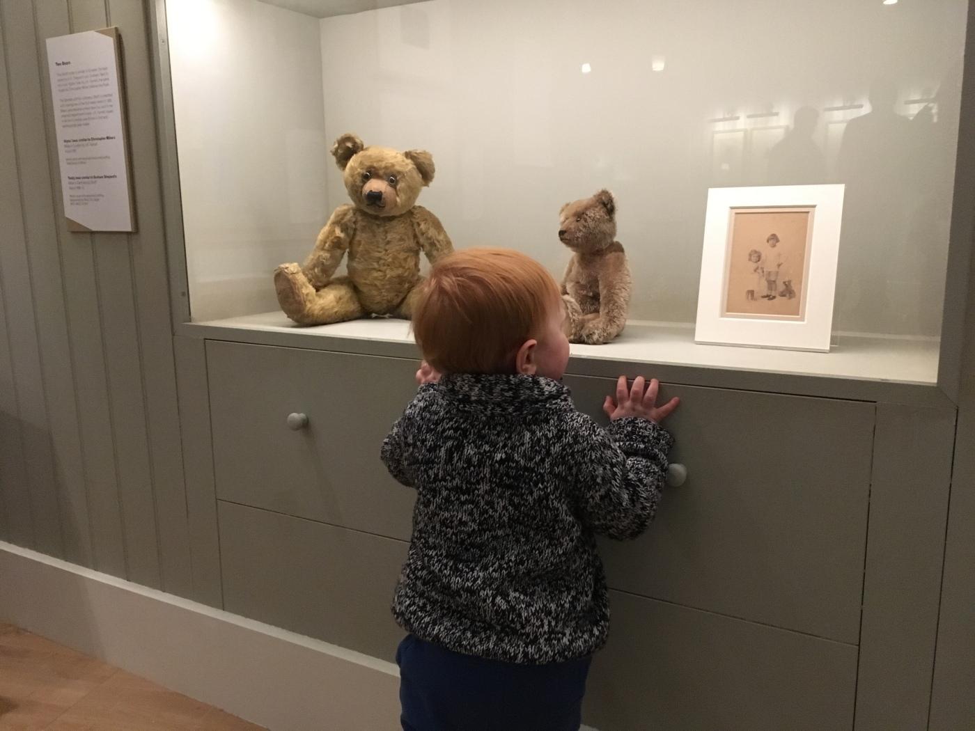 E.H. Shepard's son's teddy bear Growler