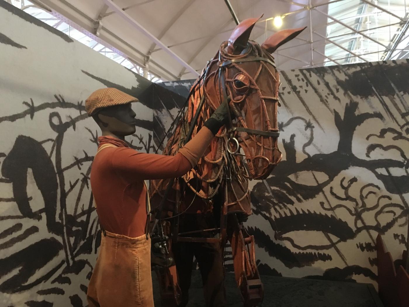 Puppet of Joey from War Horse