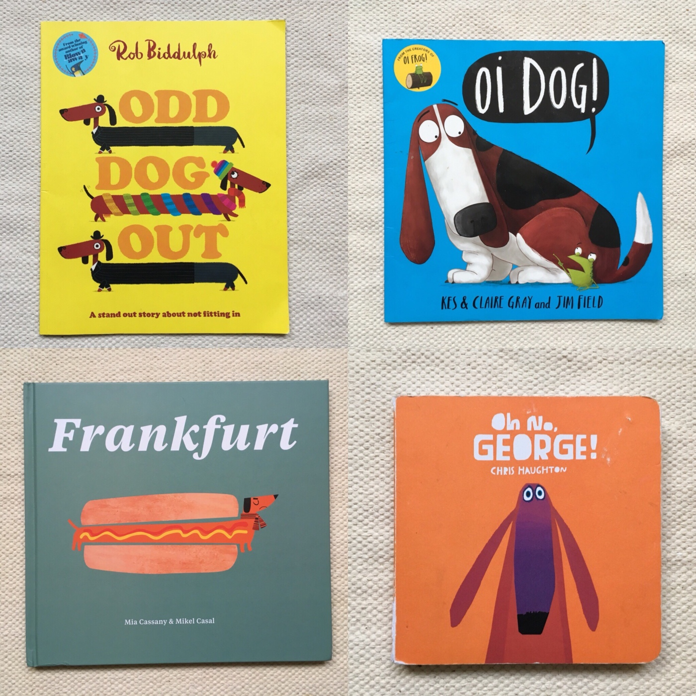 Children's books about dogs