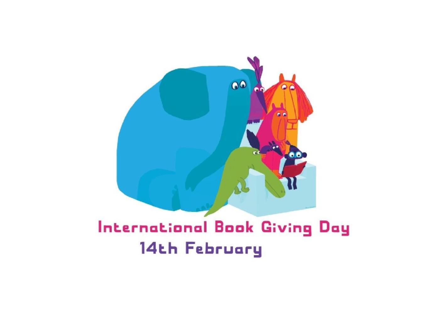 International Book Giving Day - Chris Haughton