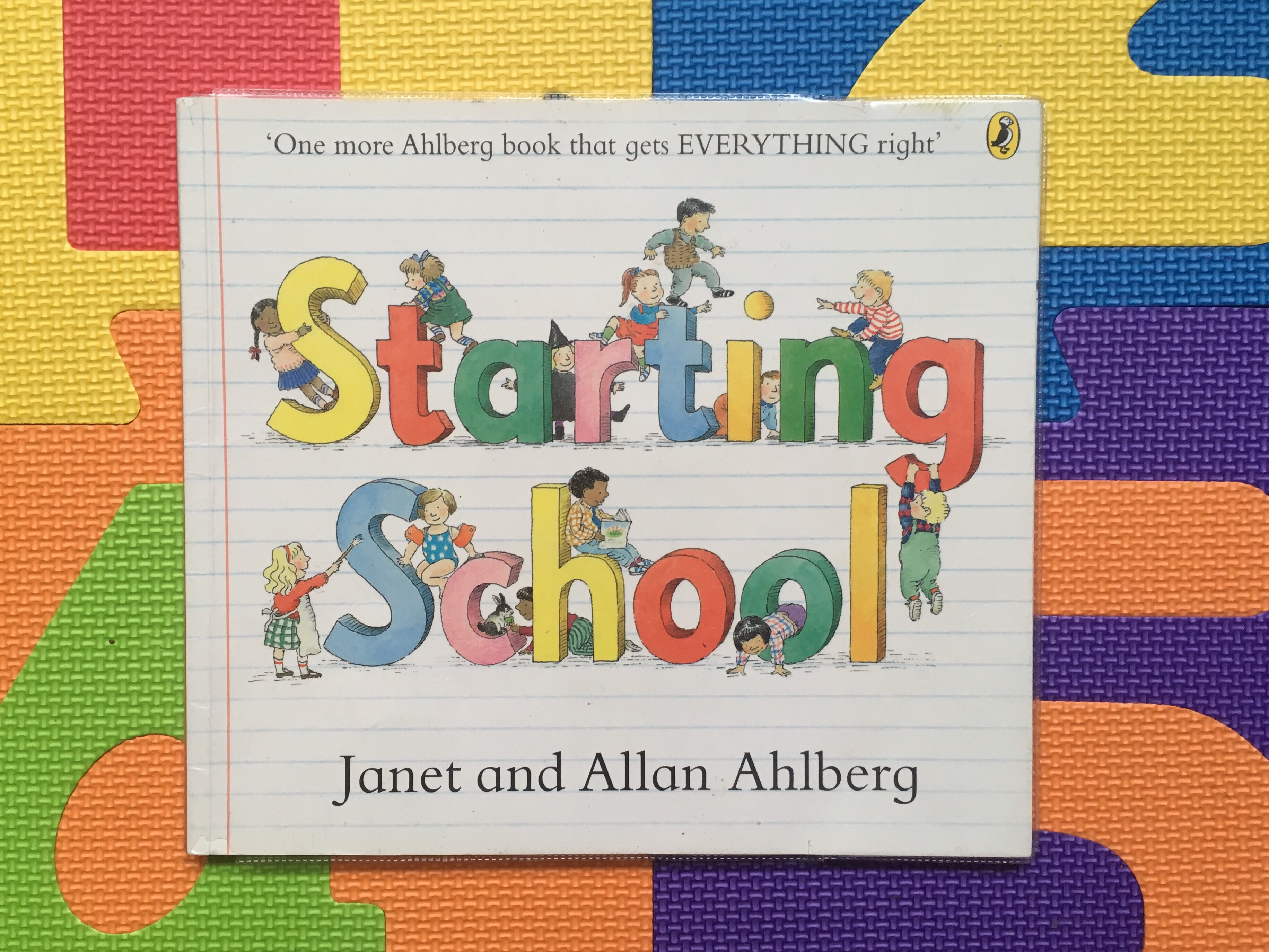 Cover of Starting School by Janet and Allan Ahlberg