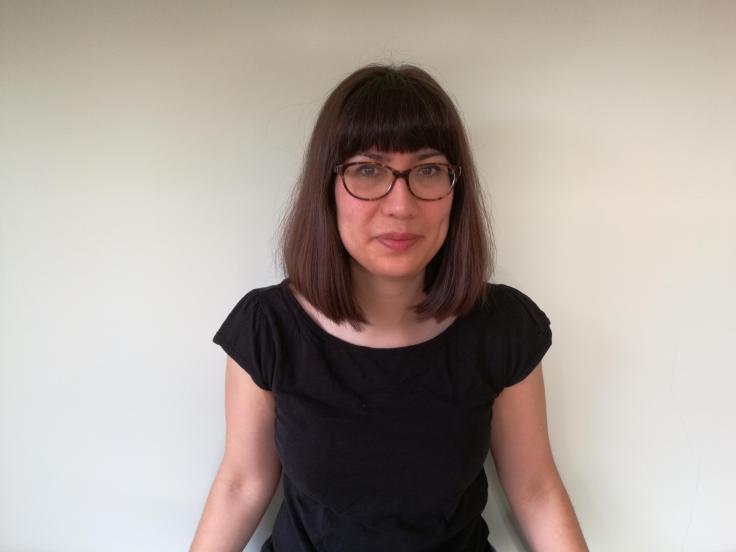 Author-illustrator Camille Whitcher