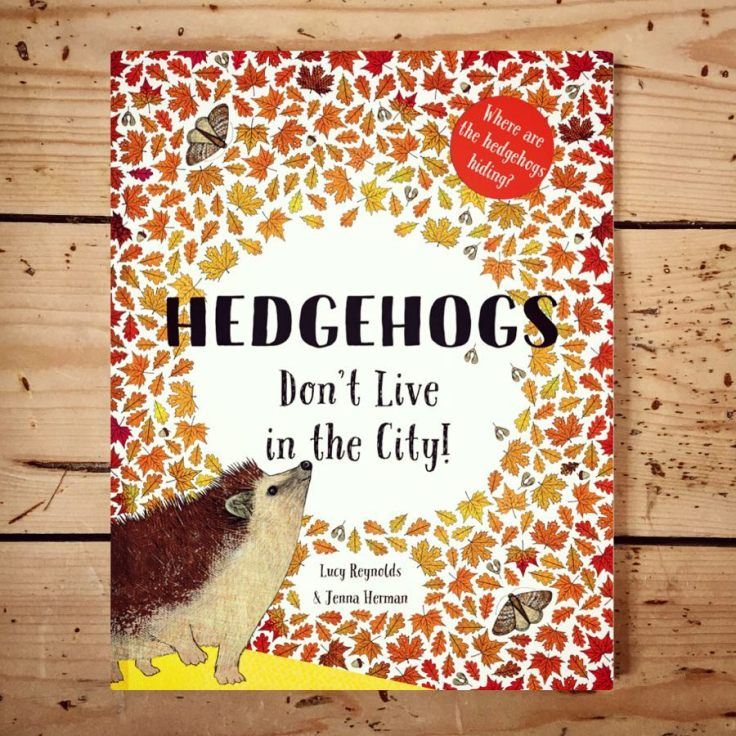 Hedgehogs Don't Live In The City by Lucy Reynolds & Jenna Herman
