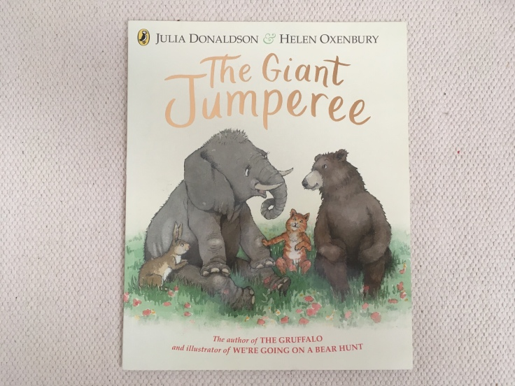The Giant Jumperee by Julia Donaldson and Helen Oxenbury