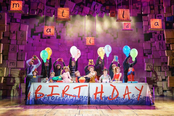 Matilda The Musical. Photo by Manuel Harlan