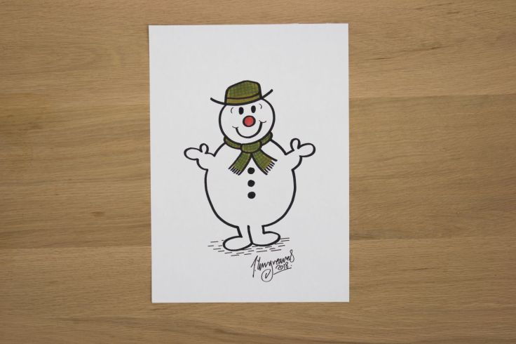 The Snowman by Adam Hargreaves