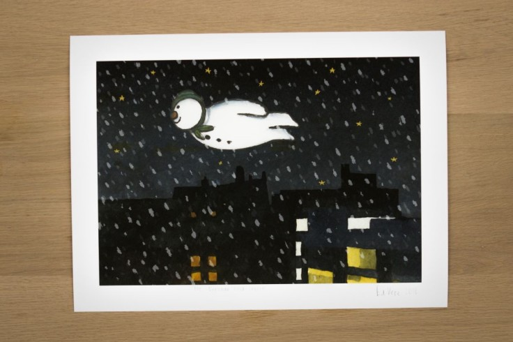 The Snowman by Ed Vere