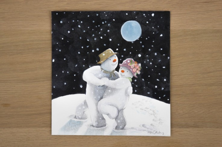 The Snowman by Helen Oxenbury