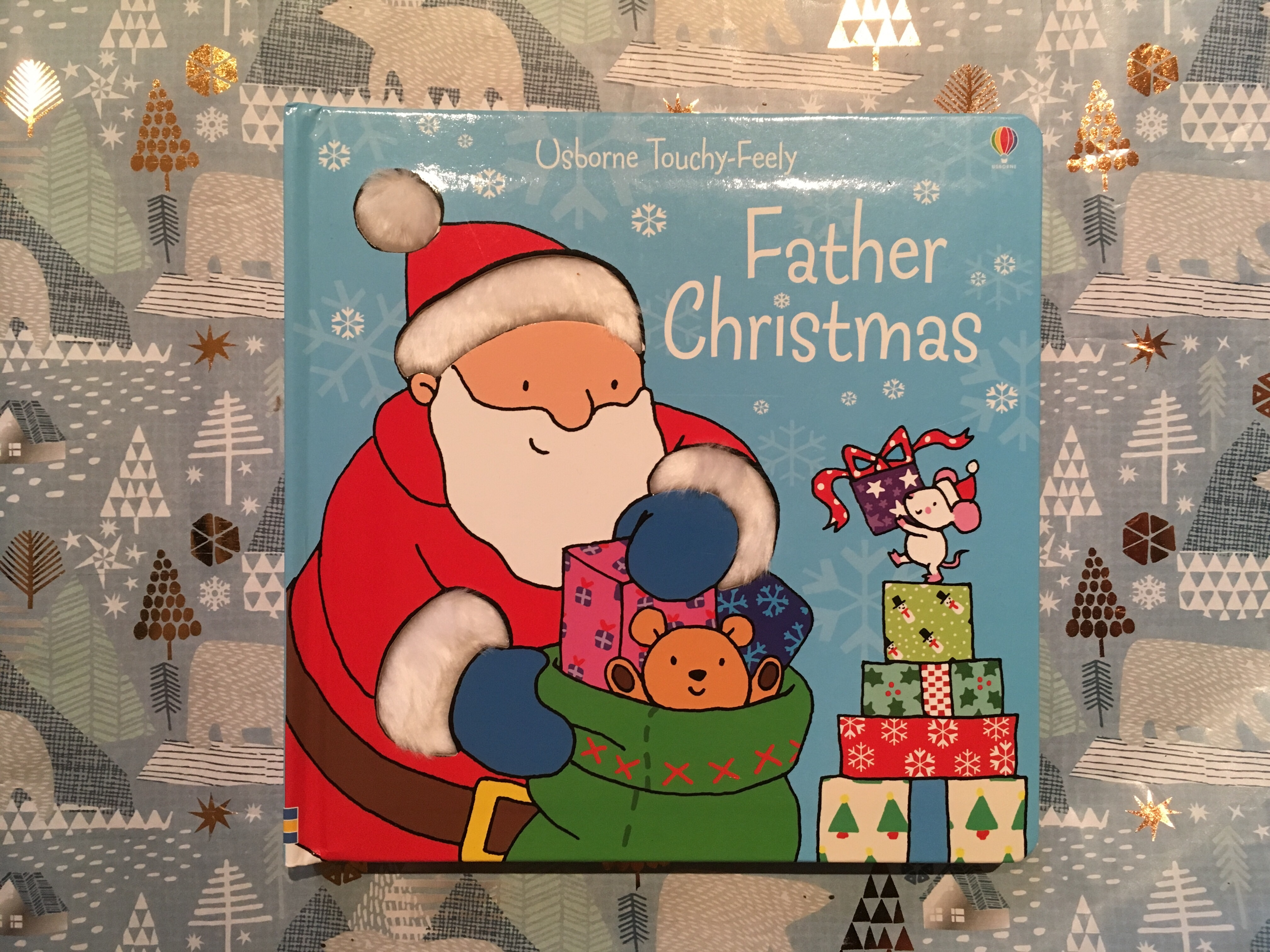 Usborne Touchy-Feely Father Christmas