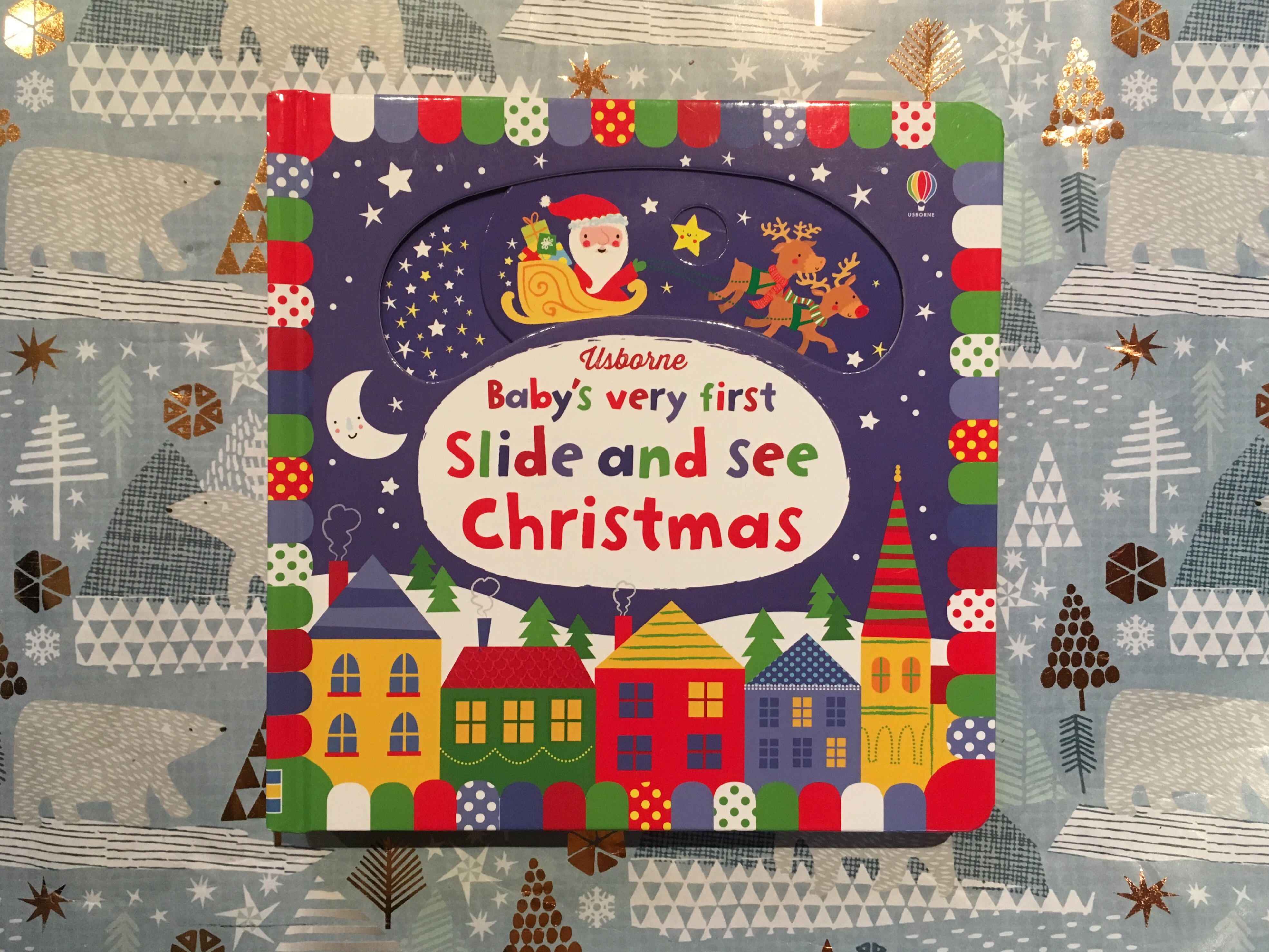 Usborne Baby's Very First Slide and See Christmas