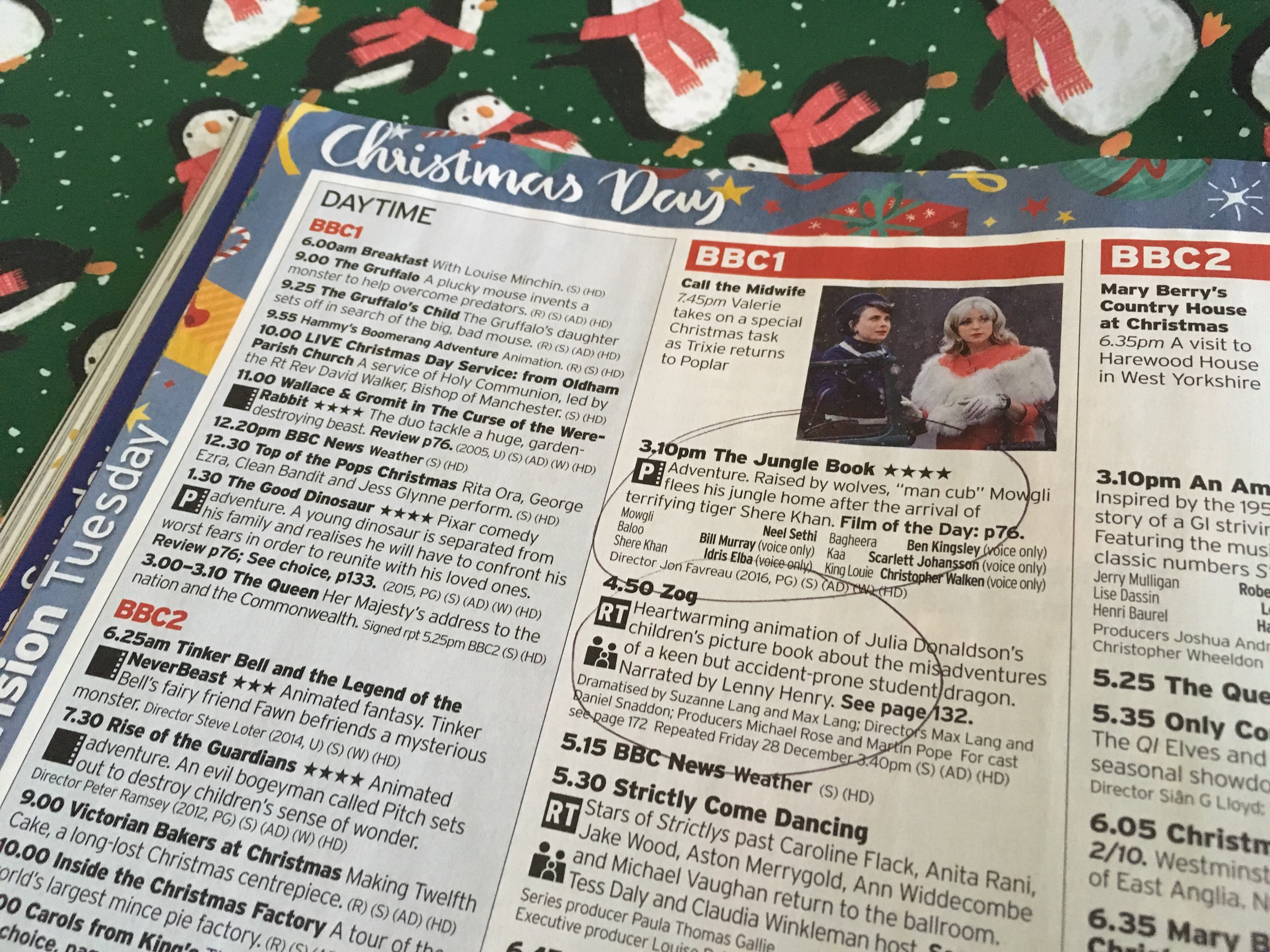 The best Christmas television for little bookworms 2018