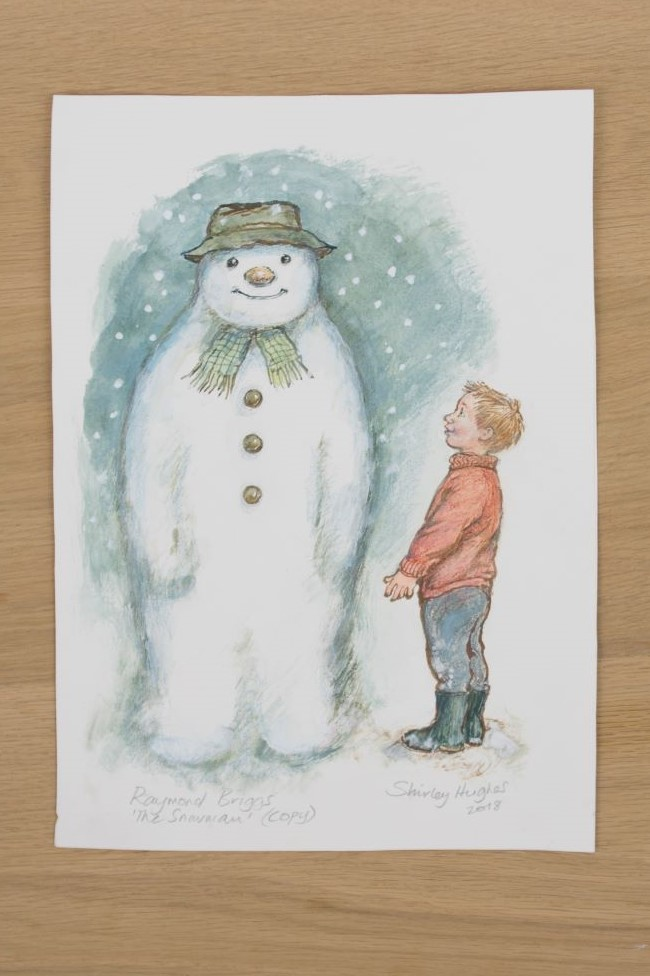 The Snowman by Shirley Hughes