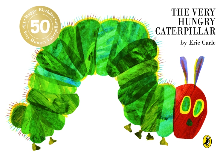 The Very Hungry Caterpillar 50th anniversary