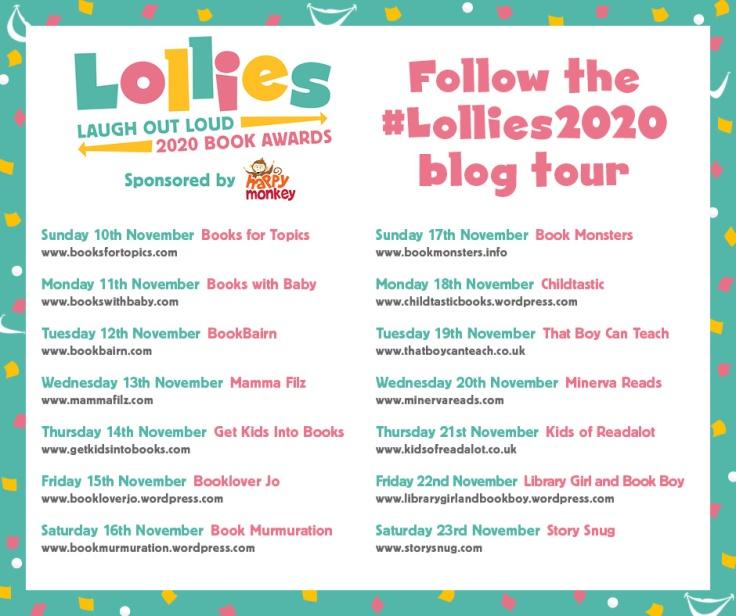 Lollies 2020 blog tour