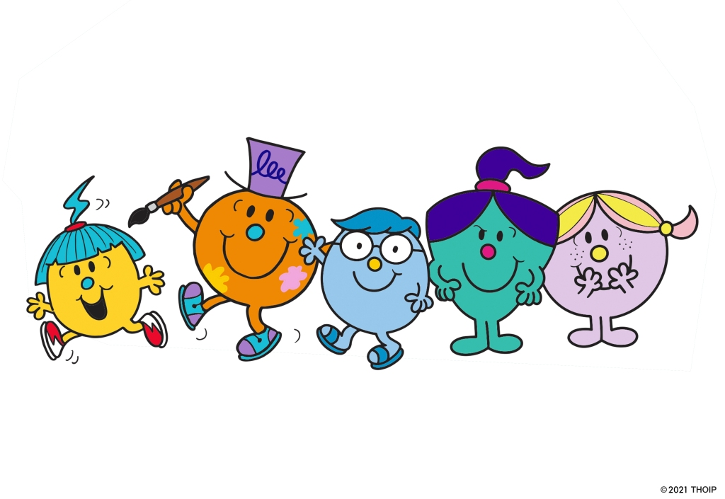 Five new Mr. Men and Little Miss characters